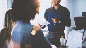 confiança e respeito dentro da sua empresa